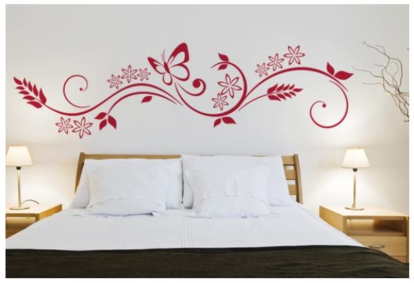 Dibujos para la pared de un dormitorio beautiful for Calcomanias para dormitorios